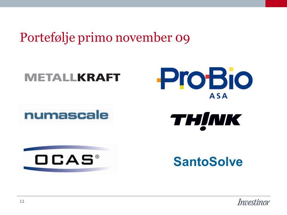 Portefølje primo november 09 11 SantoSolve
