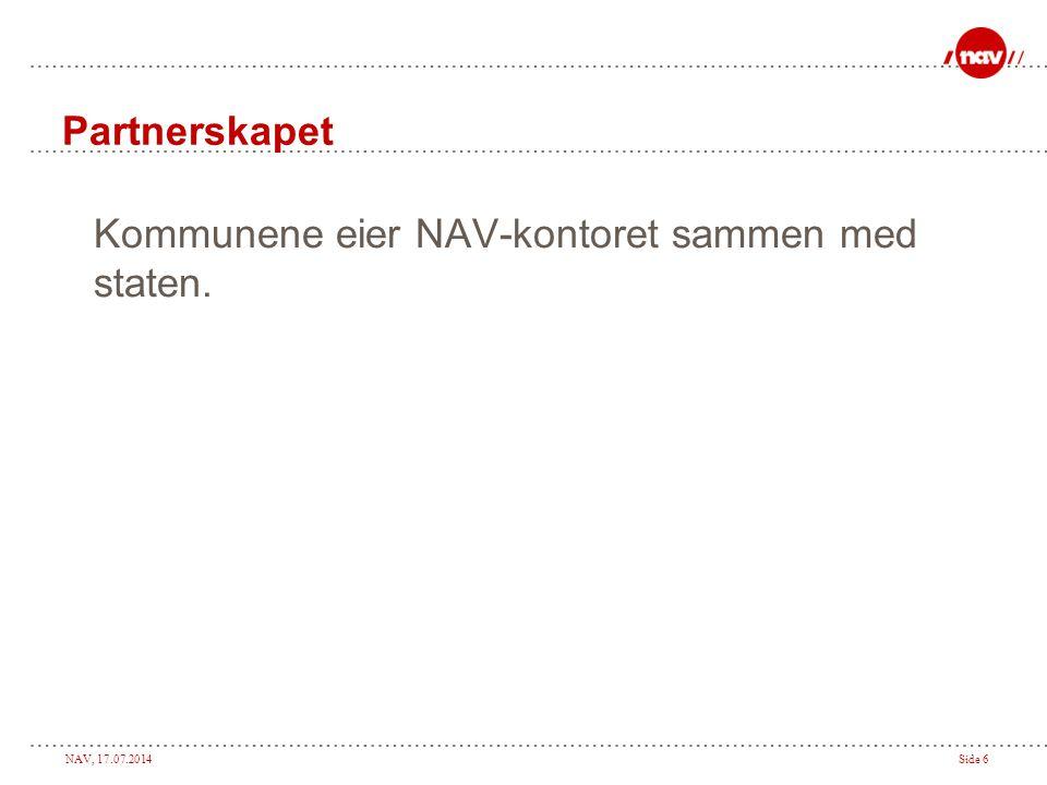 NAV, 17.07.2014Side 17 Oppsummering. ?