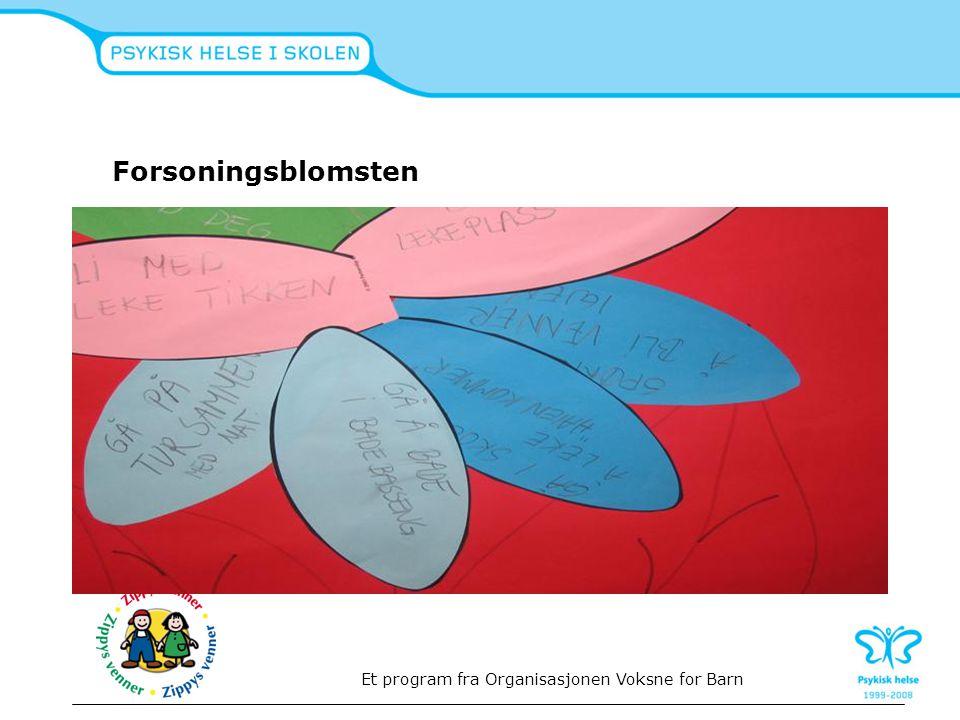 Forsoningsblomsten Et program fra Organisasjonen Voksne for Barn