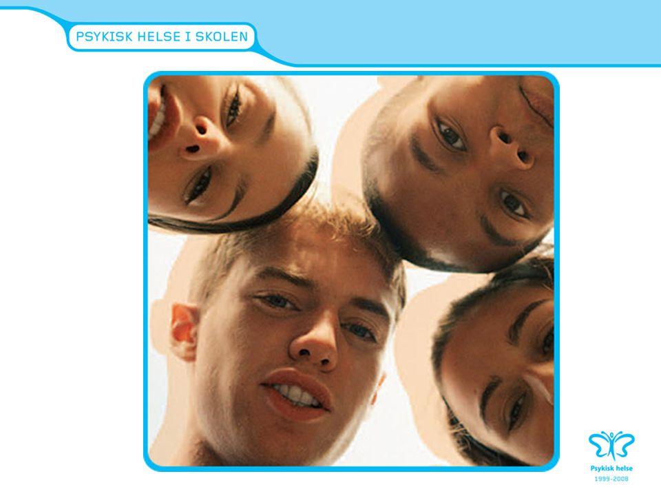 Hovedmålsetninger:  Forebygge psykiske problem hos ungdom  Utfordre unges holdninger og deres fordommer overfor psykisk helse og psykiske problemer  Skape åpenhet og trygghet slik at de unge tør å snakke om psykisk helse og følelser  Økt kunnskap om hjelpeapparat