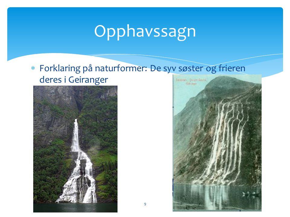  De syv søstre i Nordland 10 Opphavssagn
