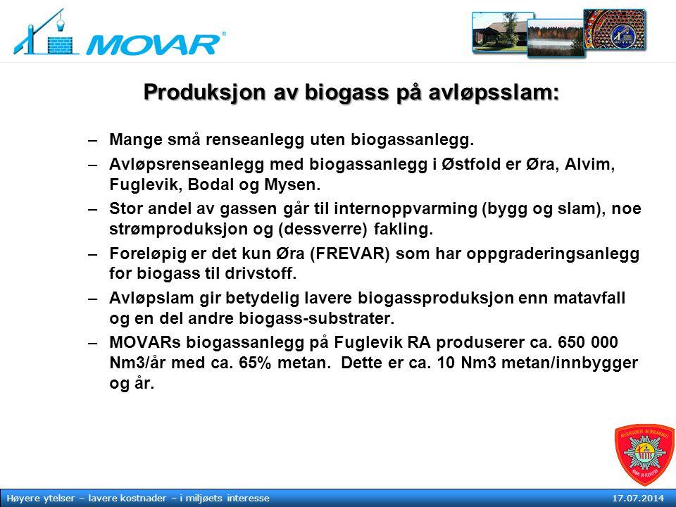 MOVAR IKS Høyere ytelser – lavere kostnader – i mljøets tjeneste17. juli 2014 Høyere ytelser – lavere kostnader – i miljøets interesse 17.07.2014 Prod