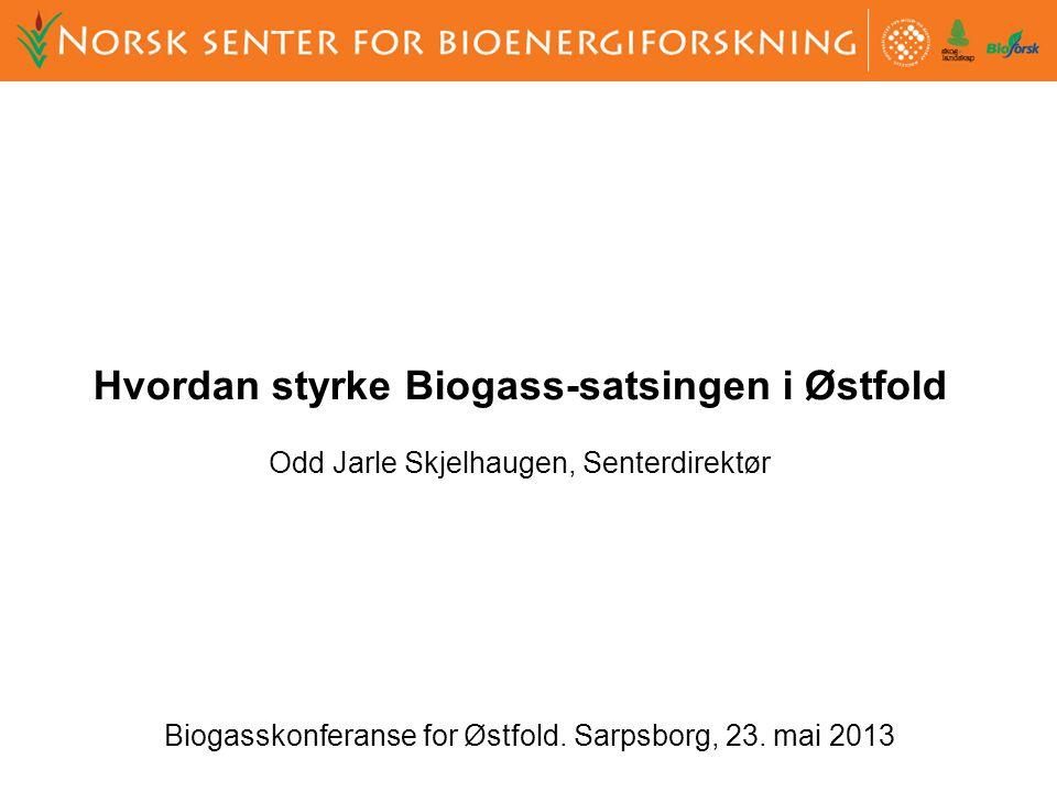 Biogasskonferanse for Østfold. Sarpsborg, 23.
