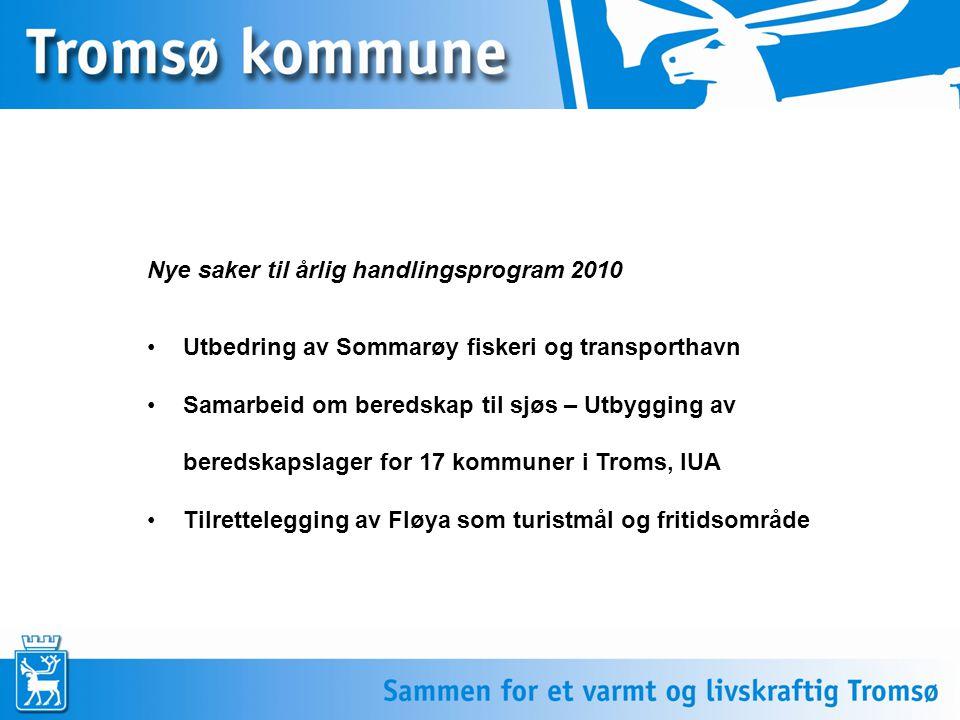 Utbedring av Sommarøy fiskeri og transporthavn Bakgrunn: Tromsø kommune er kjent med at det kan ta mange år for Sommarøy havn realiseres hvis utbyggingen skal finansieres alene over NTP.
