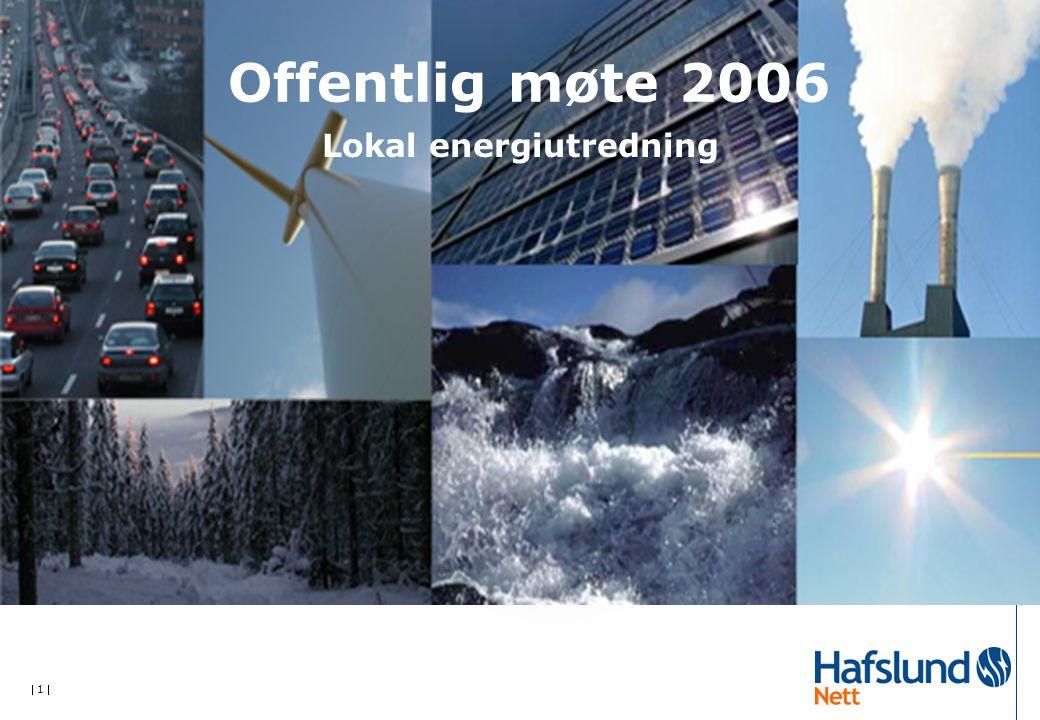  1  Offentlig møte 2006 Lokal energiutredning