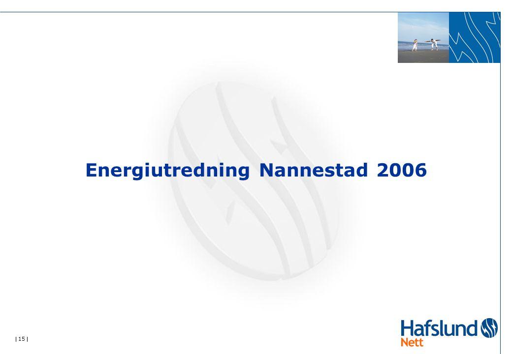  15  Energiutredning Nannestad 2006