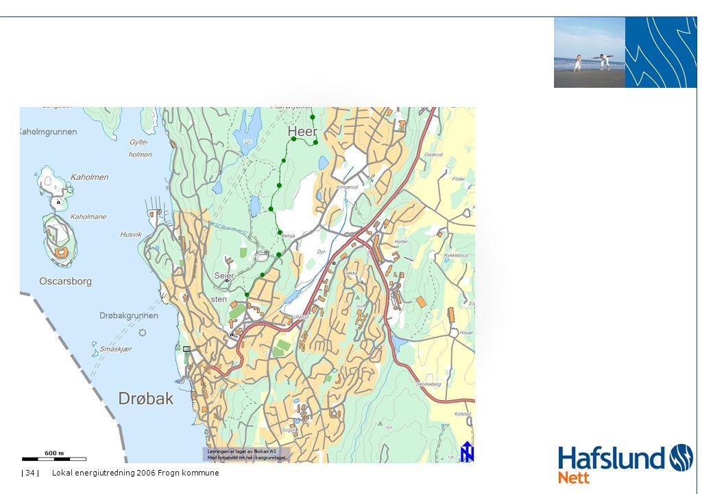  34  Lokal energiutredning 2006 Frogn kommune