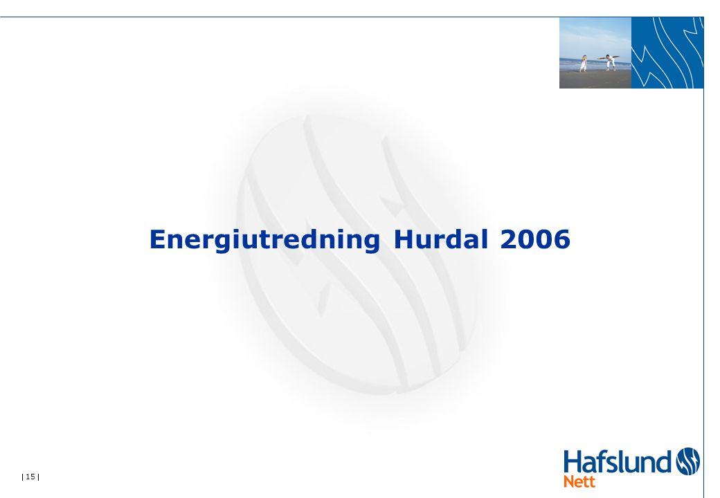  15  Energiutredning Hurdal 2006