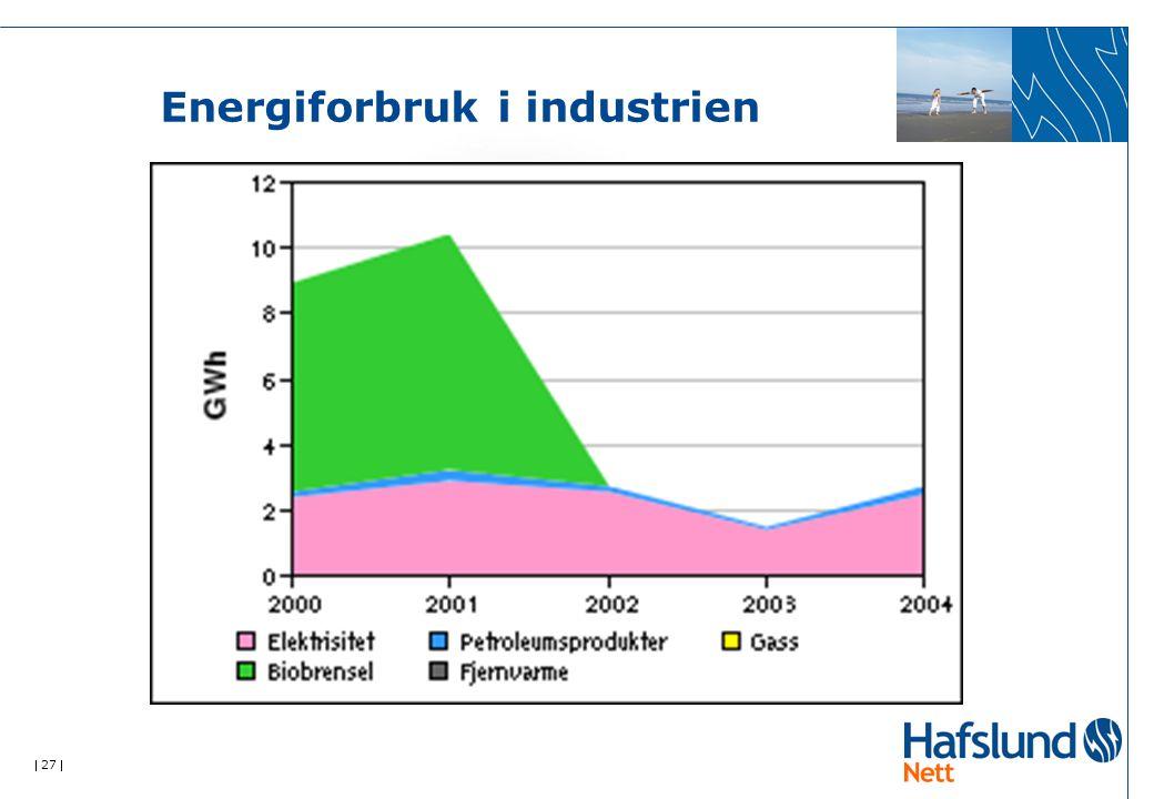  27  Energiforbruk i industrien