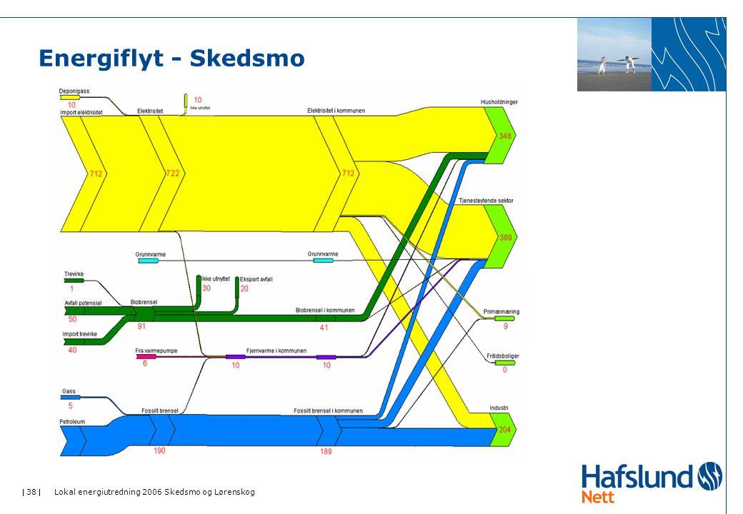  38  Lokal energiutredning 2006 Skedsmo og Lørenskog Energiflyt - Skedsmo