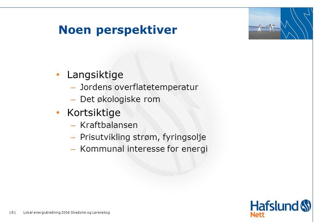  9  Lokal energiutredning 2006 Skedsmo og Lørenskog Jordens overflatetemperatur