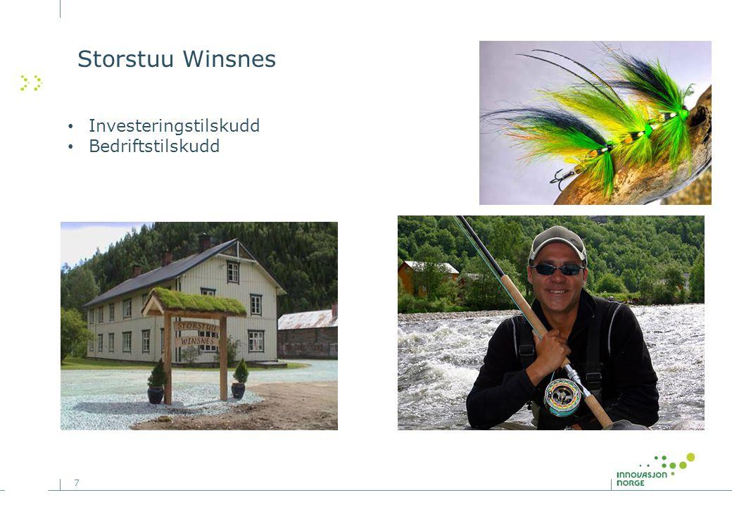 7 Storstuu Winsnes Investeringstilskudd Bedriftstilskudd