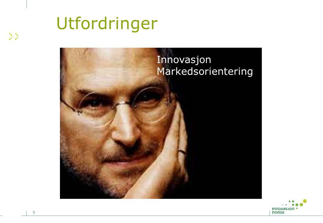 9 Innovasjon Markedsorientering Utfordringer