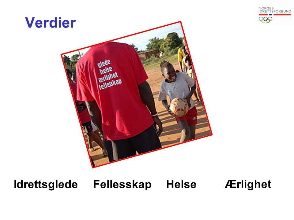 Styrke ungdomsidretten Styrke toppidretten Sikre idrettens eierskap til idrettsarrangement Sikre idrettens langsiktige finansiering Sikre bedre rammer for finansiering av idretts- anlegg Sikre bedre vilkår for frivillig innsats Utfordringer IPD 2011 - 2015
