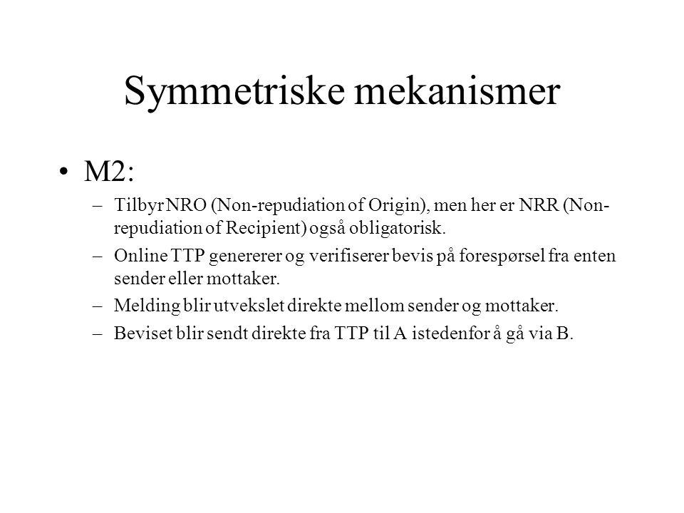 M2: Mandatory NRO and NRR A B TTP 1.SENVa(z) 2. SENVa(EOO) 3.