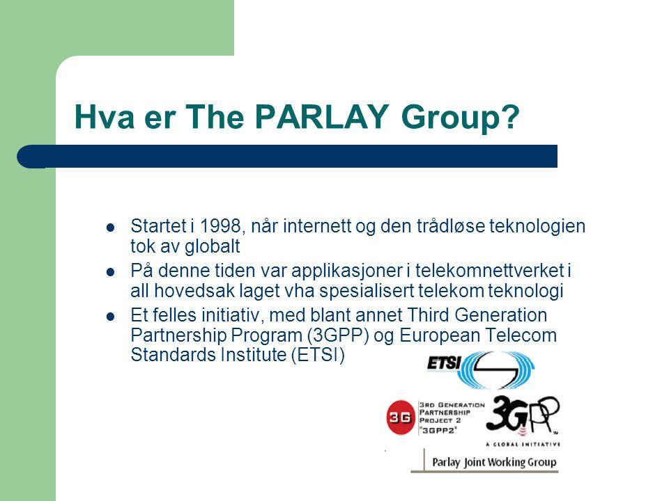 Hva er The PARLAY Group.