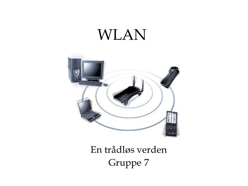 WLAN En trådløs verden Gruppe 7