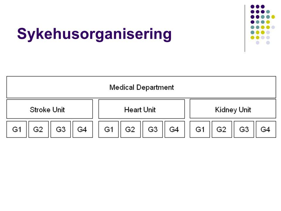 Sykehusorganisering