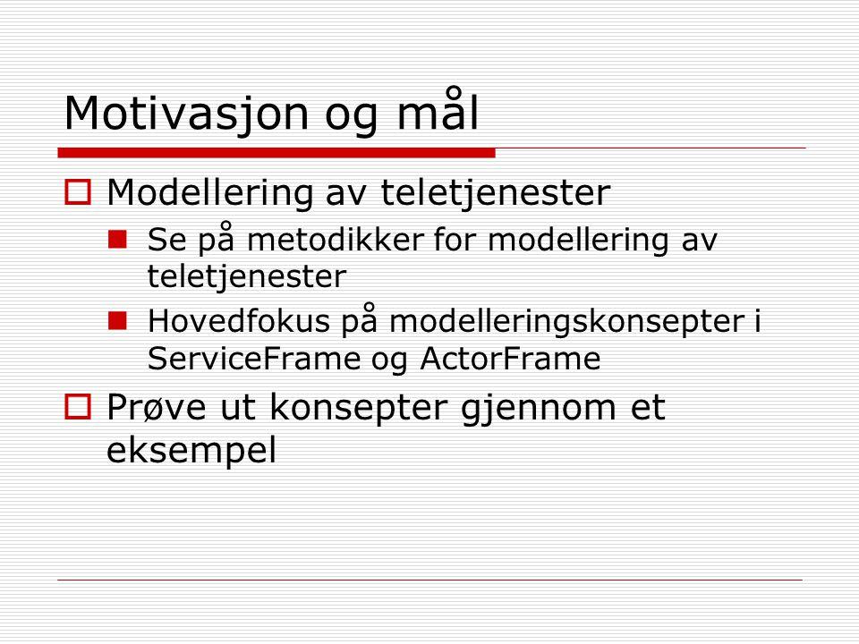 Modelldrevet utvikling  Modeller i alle ledd av utviklingsprosessen  Fokus på funksjonalitet  Formelle modeller  Utgangspunkt for implementering  Gjenbrukbare moduler  Enkelt å endre