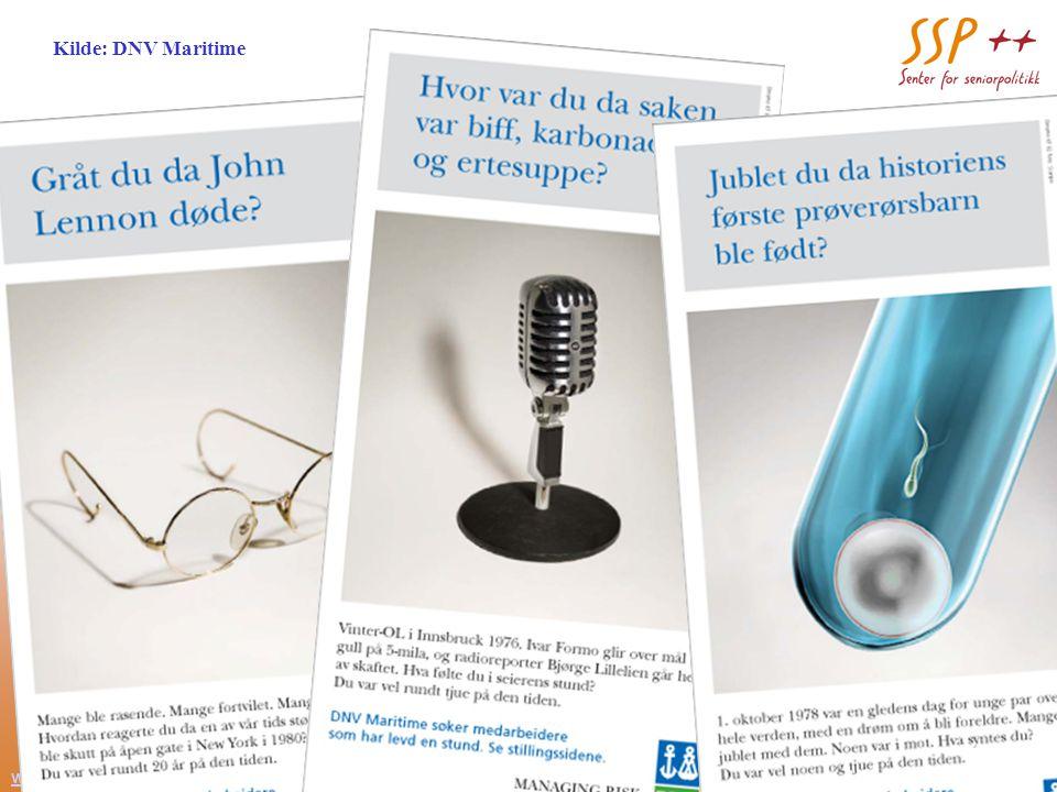 www.seniorpolitikk.no 16 Teaserne Kilde: DNV Maritime