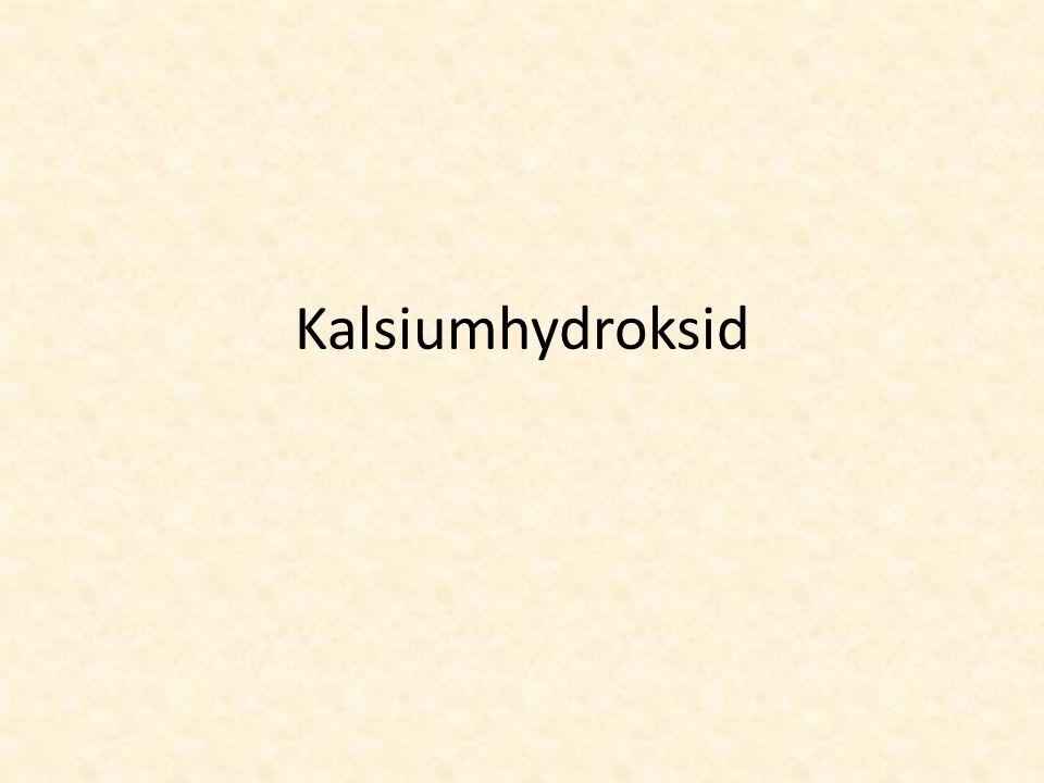 Kalsiumhydroksid