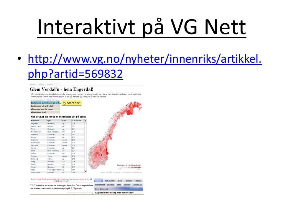 Interaktivt på VG Nett http://www.vg.no/nyheter/innenriks/artikkel.