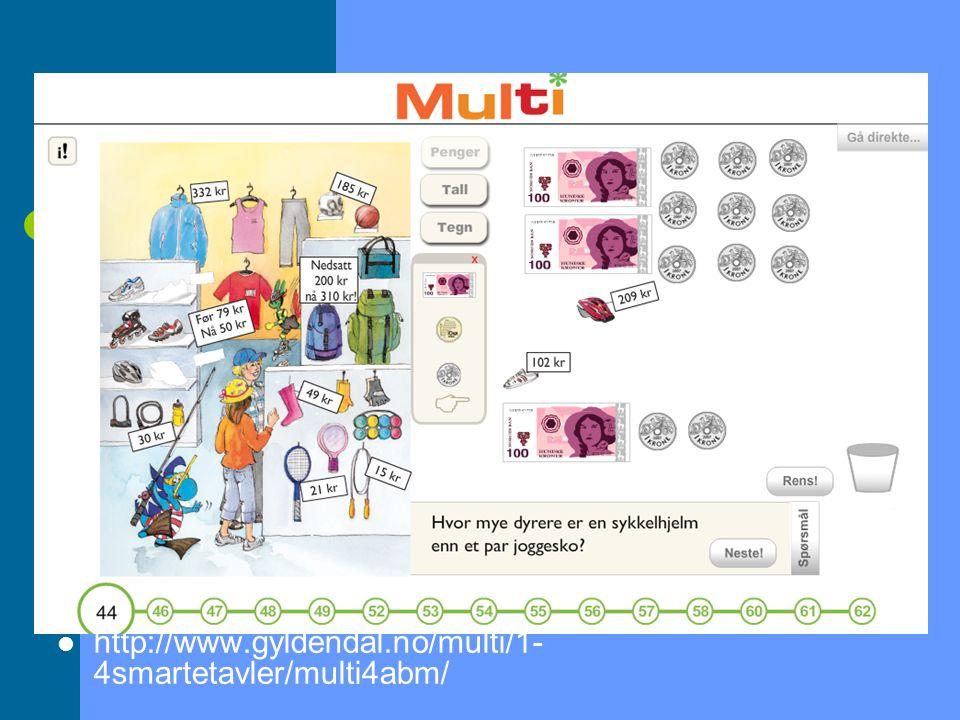 http://www.gyldendal.no/multi/1- 4smartetavler/multi4abm/