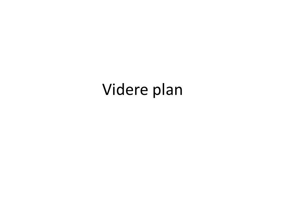 Videre plan
