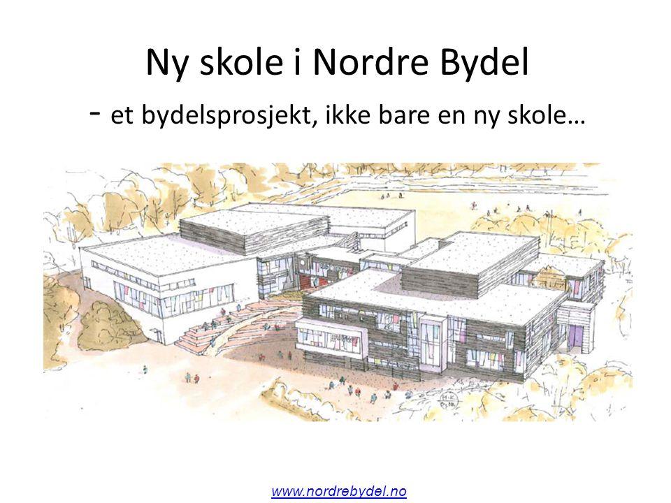 Ny skole i Nordre Bydel - et bydelsprosjekt, ikke bare en ny skole… www.nordrebydel.no