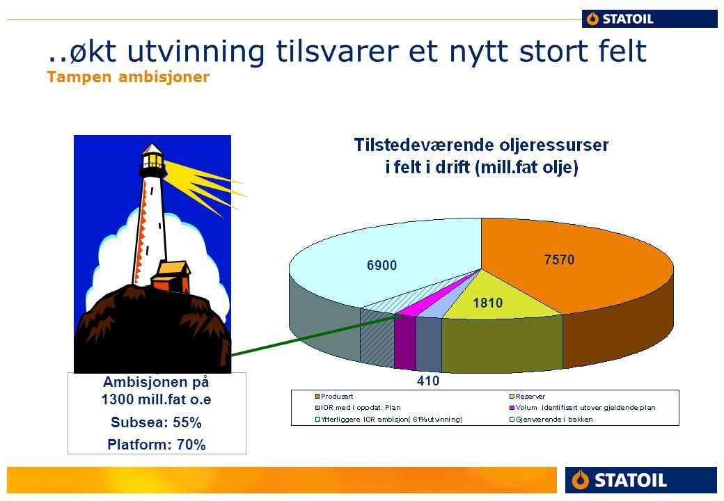 IOR ambisjoner ressursklasser Klasse 7A: Sannsylighet for gjennomføring: ¨ca 10% .
