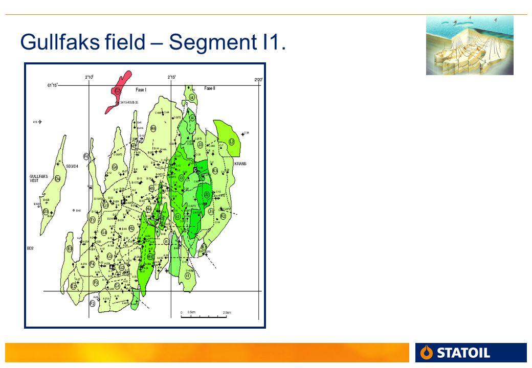 Gullfaks field – Segment I1.