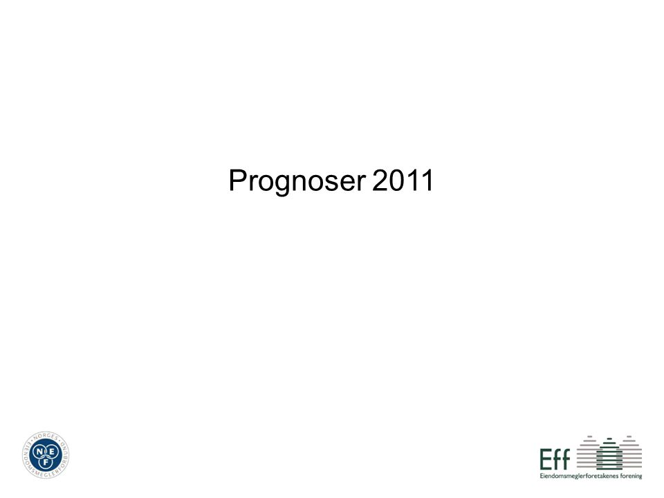 Prognoser 2011