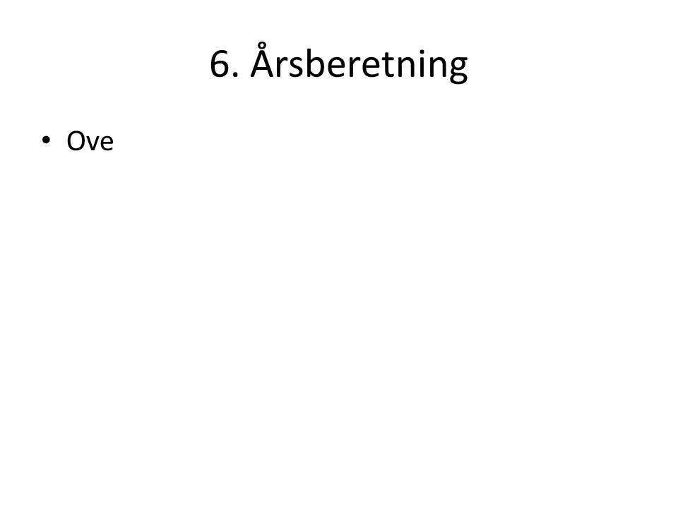 6. Årsberetning Ove