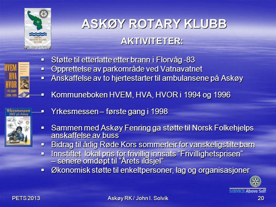 PETS 2013Askøy RK / John I.