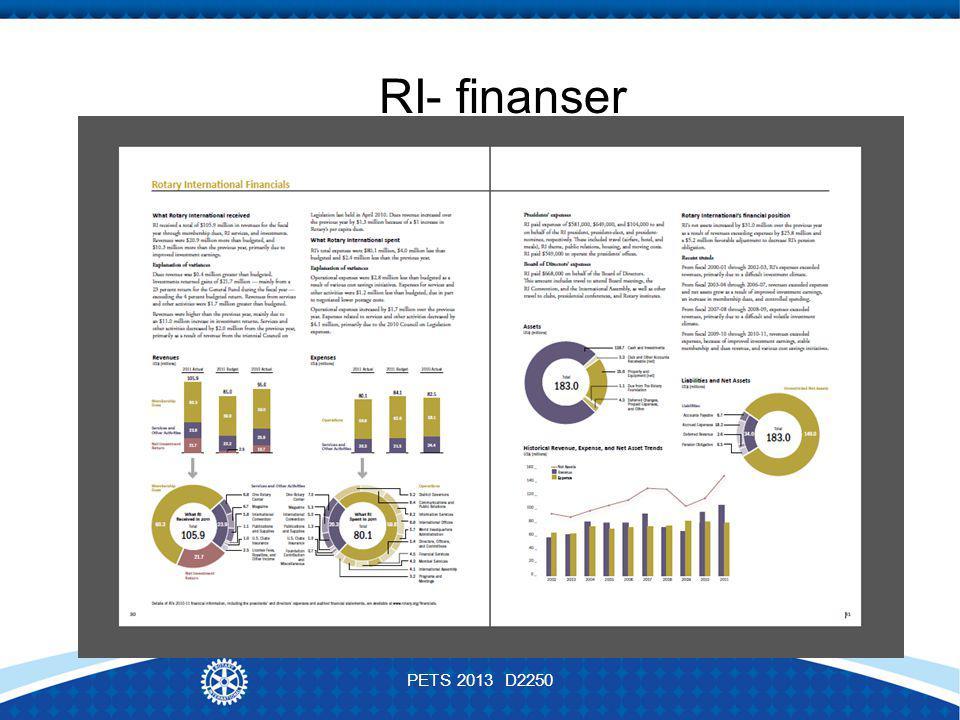 RI- finanser PETS 2013 D2250