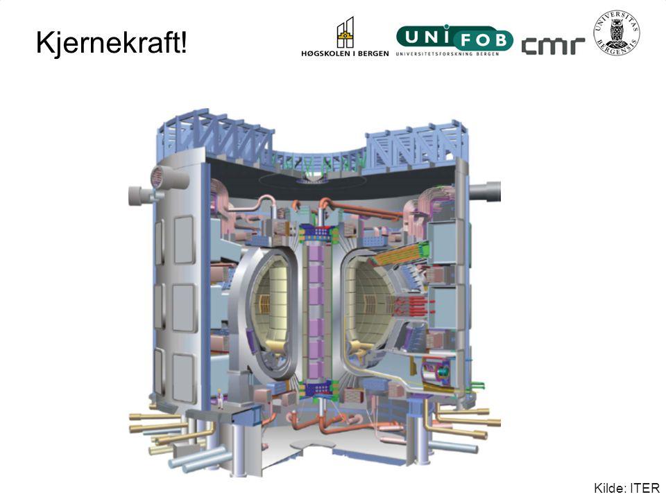 Kjernekraft! Kilde: ITER