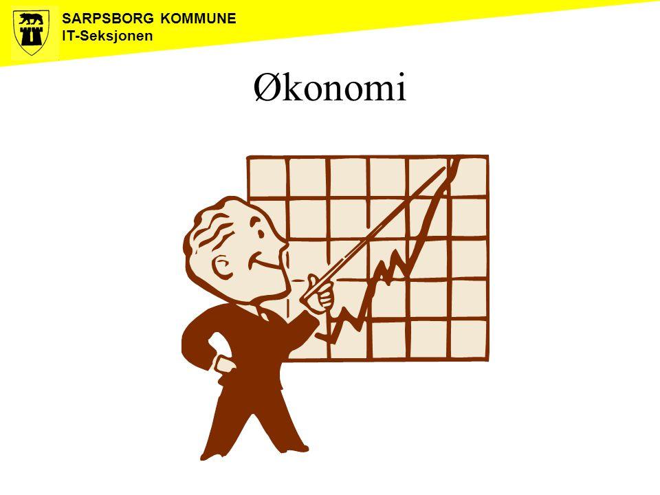 SARPSBORG KOMMUNE IT-Seksjonen Økonomi