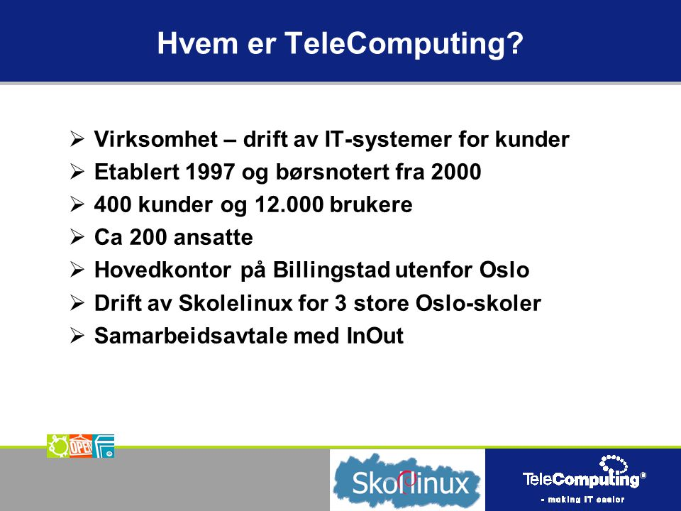 Hvem er TeleComputing.