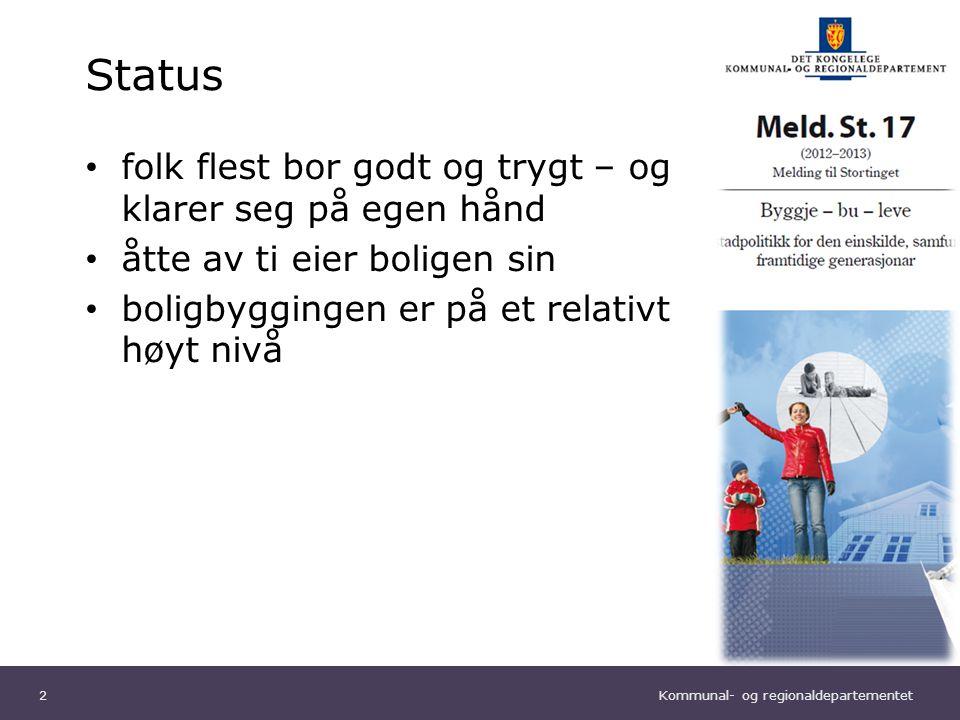 Kommunal- og regionaldepartementet Norsk mal: Sluttside Tips bildekreditering: Alle bilder brukt i presentasjonen må krediteres for eksempel slik: Slide nr.