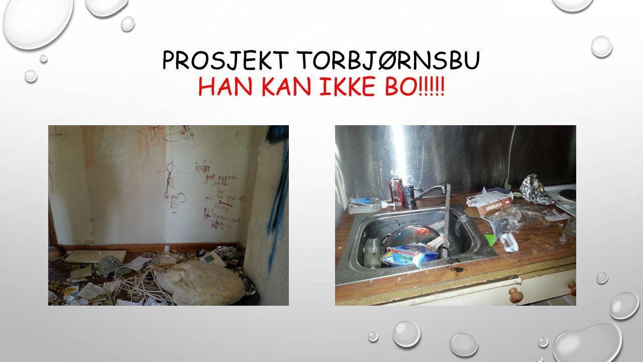 PROSJEKT TORBJØRNSBU HAN KAN IKKE BO!!!!!