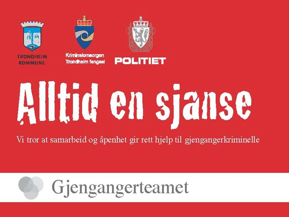 Samarbeidspartnere Nav(fengsel, kommune og stat) Behandlingsinstitusjoner (Tyrili, Trondheimsklinikken, Lbs.