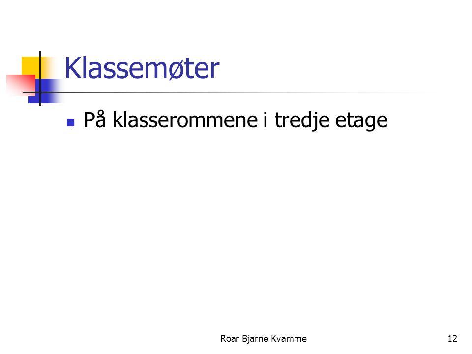 Roar Bjarne Kvamme13 Takk for oppmøtet
