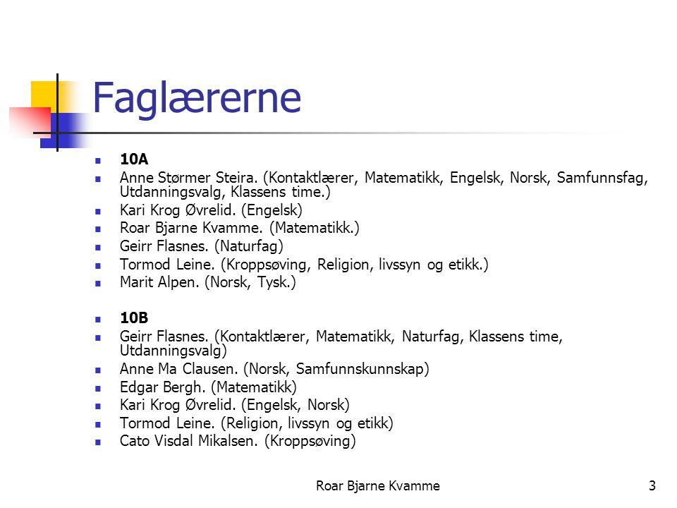 Roar Bjarne Kvamme4 10C Aksel Selmer.
