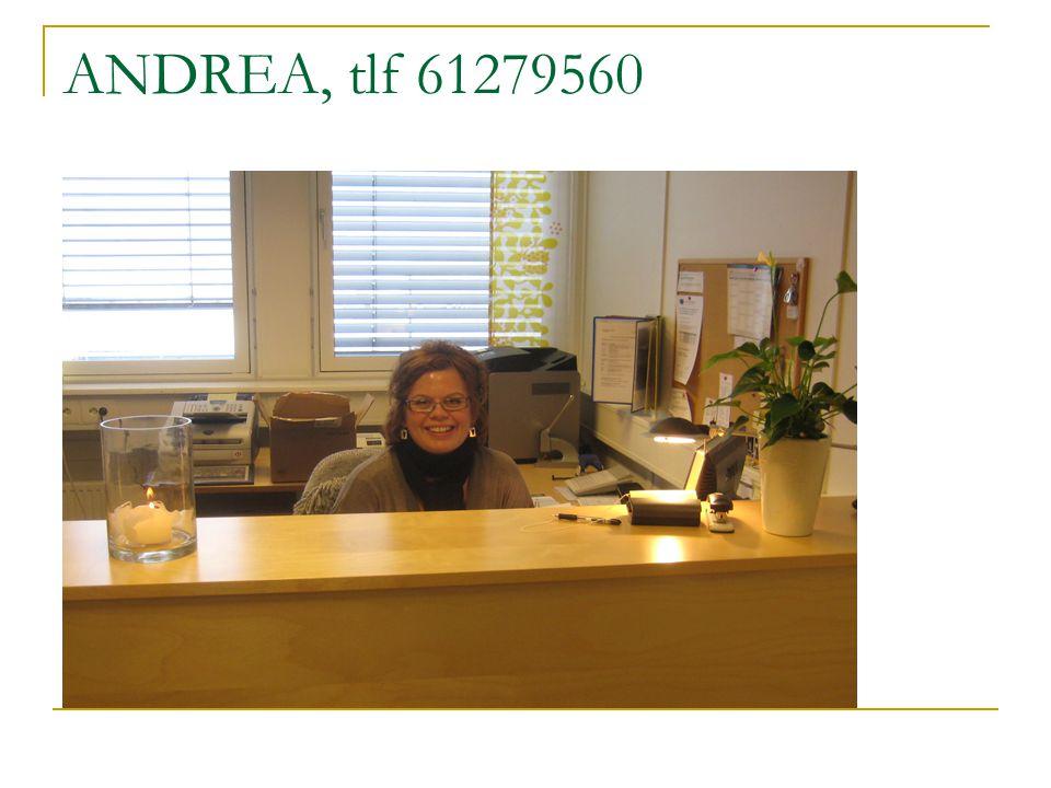 ANDREA, tlf 61279560