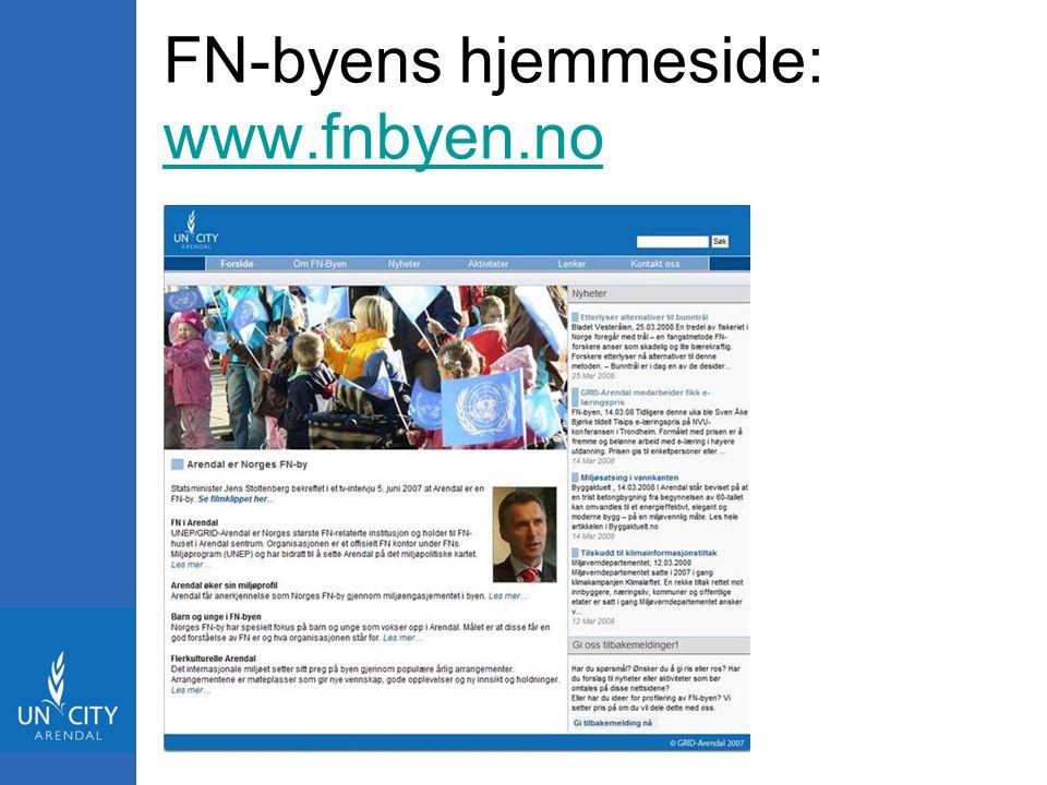 FN-byens hjemmeside: www.fnbyen.no www.fnbyen.no