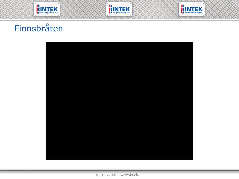 61 19 71 00 – www.intek.no Finnsbråten