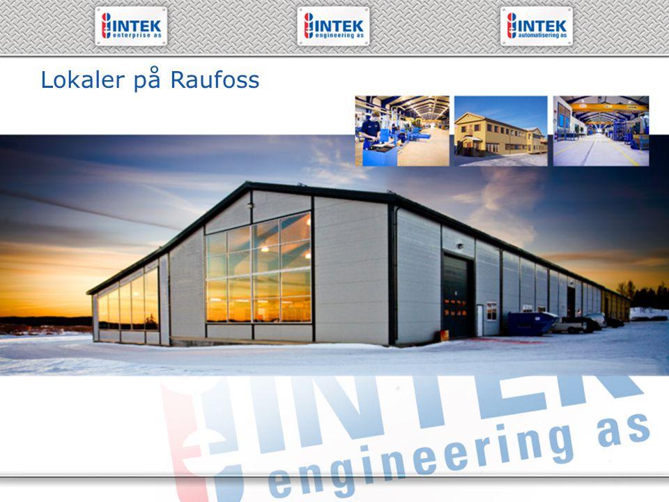 61 19 71 00 – www.intek.no Lokaler på Raufoss