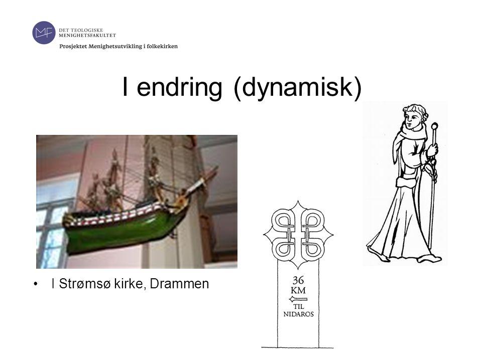 I endring (dynamisk) I Strømsø kirke, Drammen
