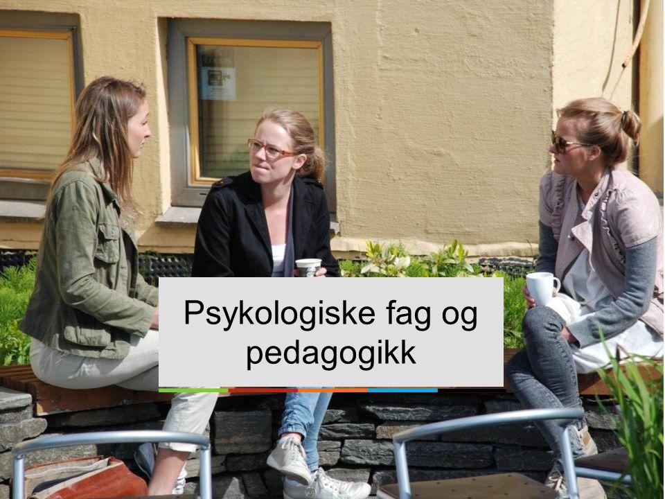 Psykologiske fag og pedagogikk
