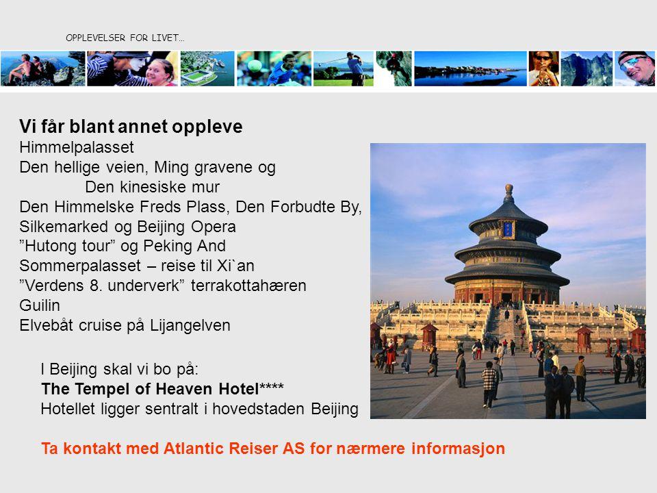Postboks 123 NO 6447 ELNESVÅGEN Tel +47 909 17 295 Fax +47 71 26 88 91 eli@atlantic-as.no www.atlanticreiser.no eli@atlantic-as.nowww.atlanticreiser.no